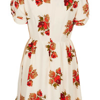 Petite Floral Teadress - New In This Week - New In - Topshop USA