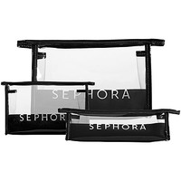 Signature Clear Cosmetic Bags - SEPHORA COLLECTION   Sephora