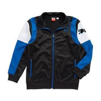 puma boys 8 20 logo track jacket  number 1