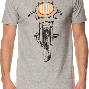 DEUS EX MACHINA FRONTAL MATCHLESS SS TEE