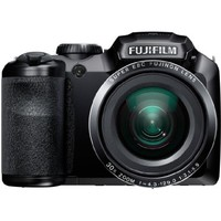 "Fujifilm FinePix S4850 Black 16MP Digital Camera with 30x Optical Zoom and 3"" LCD"
