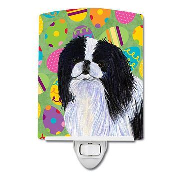 Japanese Chin Easter Eggtravaganza Ceramic Night Light SS4812CNL