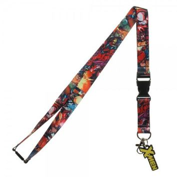 X-Men Comic Lanyard