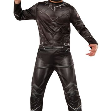 Rubies Costume Captain America Civil War Value Black Panther Costume Small