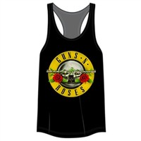 Guns N Roses Juniors Racerback Tank Top | Vintage Rock T-Shirt