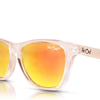 Clear Polarized Orange Lens