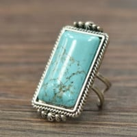 SARIEE BEACH TURQUOISE RING