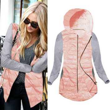 Wadded Clothing Female Women Winter Warm Hooded Jacket Cotton Coat Jackets Slim Thin Parka Ladies Coats Outwear