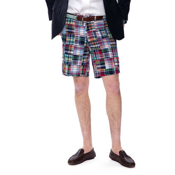 Sconset Patch Madras Cisco Shorts