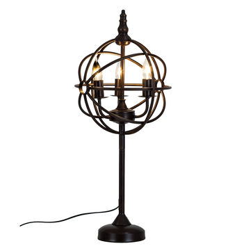 Bombay Steampunk Bronze 28 inch Table Lamp