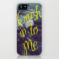Crash iPhone Case by Caleb Troy | Society6