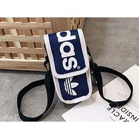 ADIDAS Hot Selling Lady's Small Single Shoulder Bag Multicolored Fashion Phone pouch Bag Dark Blue