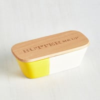 Quirky After all Is Spread and Done Butter Dish by ModCloth