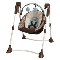 Graco Swing By Me Portable 2-in-1 Swing - Little Hoot