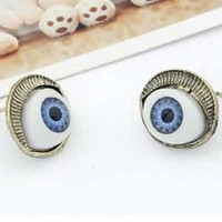 Blue Staring Eye Earrings | LilyFair Jewelry