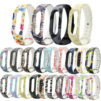 CARPRIE Futural Digital Hot Selling Replacement Silica Gel Wristband Band Strap For Xiaomi Mi Band 2 Bracelet Wholesale New F30