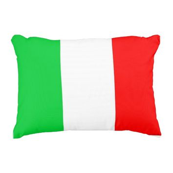 """Italy Custom Polyester Accent Pillow 16"""" x 12"""