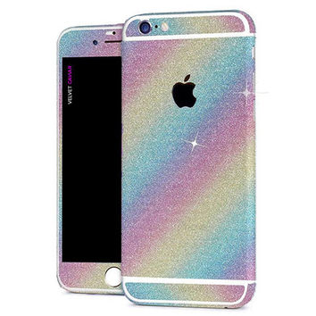 RAINBOW GLITTER DECAL