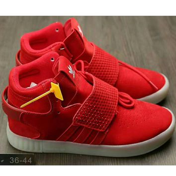 Adidas Originals Tubular Invader Strap Women Men Running Sport Casual Shoes Sneakers Red I-HAOXIE-ADXJ