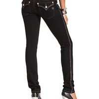 Miss Me Jeans, Skinny Black-Wash Hardware - Womens Jeans - Macy's
