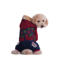 Brand Dog Clothes High Quality Pet Clothes British style Clothing New 2015 Autumn Winter Clothes Dogs Products Warm Coats HP721