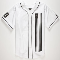 Civil Dark Team Mens Baseball Jersey White  In Sizes