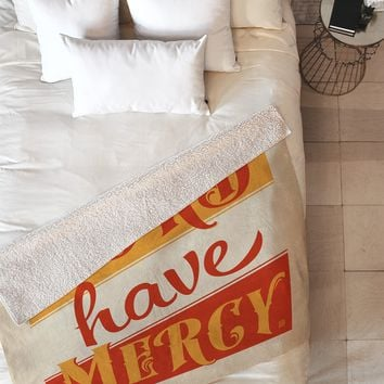 Anderson Design Group Lord Have Mercy Fleece Throw Blanket