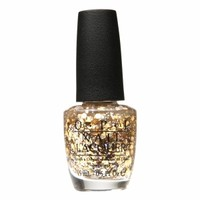 OPI Nail Lacquer Spotlight on Glitter Collection, I Reached My Gold!