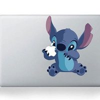 stitch laptop decals Macbook pro decals Mac decal Macbook pro decal Macbook air decal Mac stickers Apple decal ipad decal iphone decal