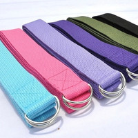Yoga Stretching Strap Training Belt Waist Leg Fitness Exercise Yoga Rope Belt = 1932952260