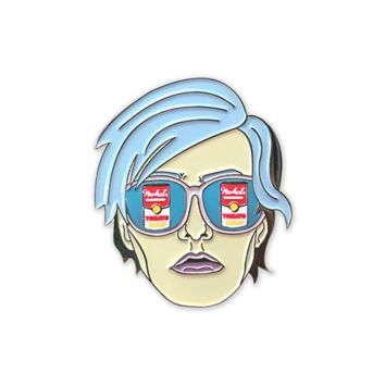 Warhol Dreamlover pin