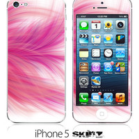 iPhone 5 NEW Pink Feather 2 Skin FREE SHIPPING by DesignSkinz