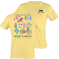 Simply Southern Beachin' It Top - Yellow