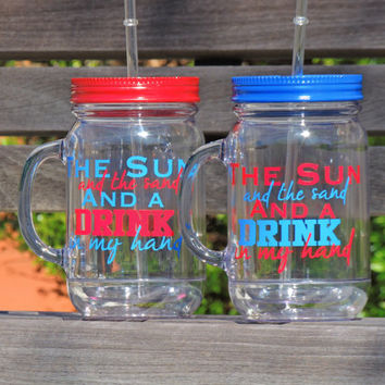 mason mug, mason jar, personalized mason, wedding party favor, bridesmaid cups, acrylic tumbler, personalized mug, bachelorette party favor