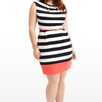 Plus Size Outside the Lines Dress   Fashion To Figure