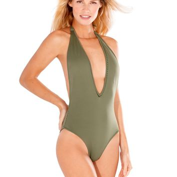 Kai Forest Green One Piece