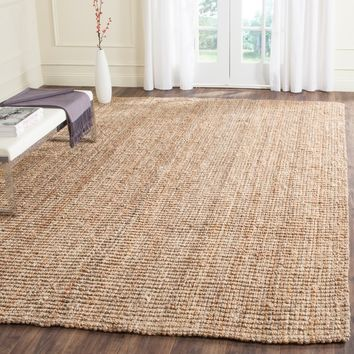 Safavieh Hand-Woven Natural Fiber Natural Accents Thick Jute Rug (7'6 x 9'6) | Overstock.com Shopping - The Best Deals on 7x9 - 10x14 Rugs