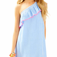 Emmeline One Shoulder Dress | 25928 | Lilly Pulitzer
