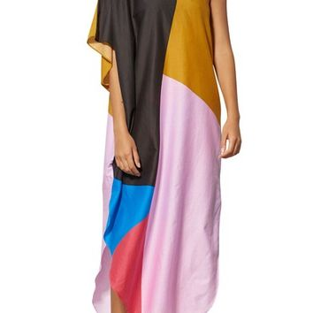 Mara Hoffman Noa One-Shoulder Cover-Up Maxi Dress | Nordstrom