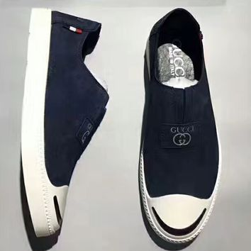 GUCCI : Classic Canvas Leisure Shoes