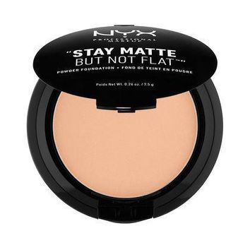 NYX Stay Matte But Not Flat Powder Foundation - Warm - #SMP17