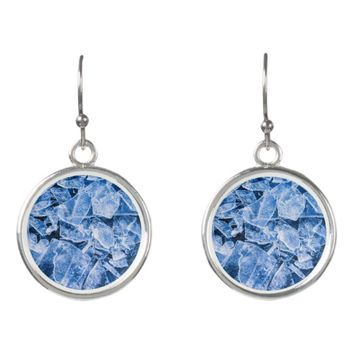 Ice cold and funny earrings