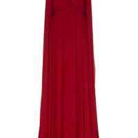 Georgette Draped Gown | Moda Operandi