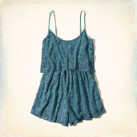 Royal Palm Beach Romper