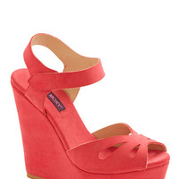 ModCloth Punch Bowl Planner Heel in Strawberry