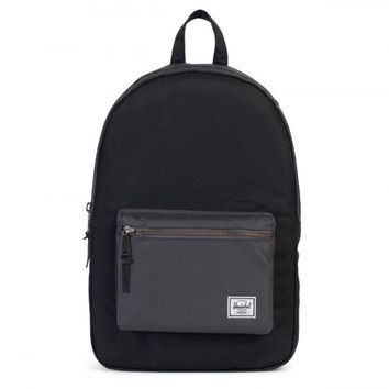 Herschel Supply Co. Black/Charcoal Settlement Backpack