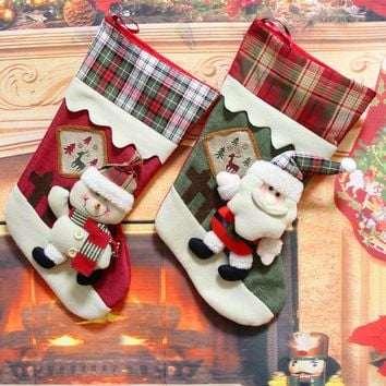 ONETOW Christmas Decoration Gift Socks [9199620804]