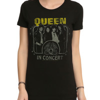Queen In Concert Girls T-Shirt