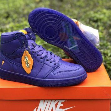 PEAPHX7 Nike Air Jordan 1 Retro OG High Gatorade Purple Sneakers 3fdaa17d9