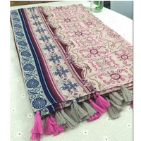 Fashion 1 Women Ladies Boho Fluid Systems Large Pashmina Scarves Vintage Paisley Long Stole Wrap Scarf